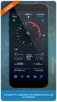Compass Pro APK screenshot 1