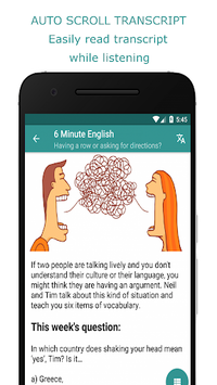 Learning English for BBC - Practice Listening APK screenshot 1