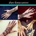 draw henna tattoos icon