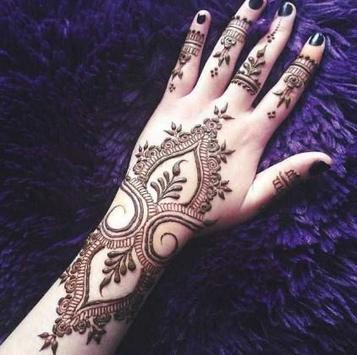 draw henna tattoos APK screenshot 1