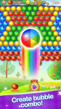 Bubble Fruit APK screenshot 1