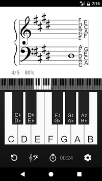 Vivace: Learn to Read Music APK screenshot 1