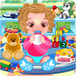 Baby Caring Games with Anna icon