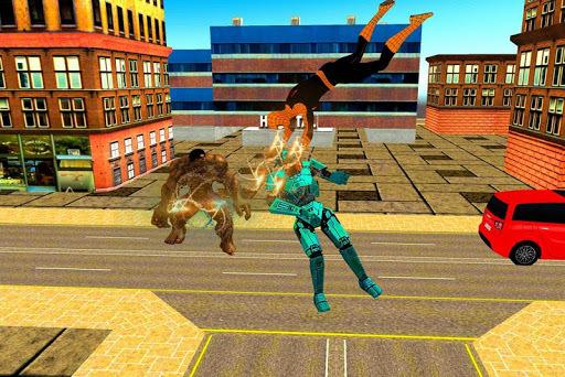 Flying Grand Superhero:Revenge Battle APK screenshot 1