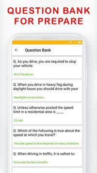 DMV Permit Practice, Drivers Test & Traffic Signs APK screenshot 1
