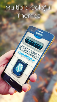 Fingerprint Lock Screen Prank APK screenshot 1