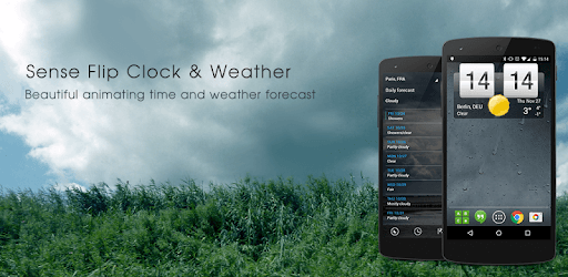 Sense Flip Clock & Weather pc screenshot