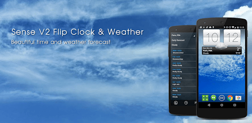 Sense V2 Flip Clock & Weather pc screenshot