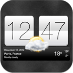 Sense V2 Flip Clock & Weather for pc icon