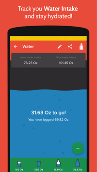 Health & Fitness Tracker with Calorie Counter APK screenshot 1