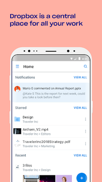 Dropbox APK screenshot 1