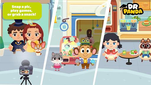Dr. Panda Town: Mall APK screenshot 1