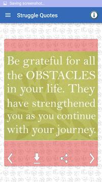 Struggle & Hard Work Quotes APK screenshot 1