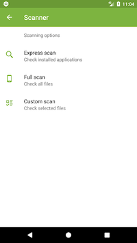 Anti-virus Dr.Web Light APK screenshot 1