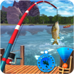 Ultimate Fishing Mania: Hook Fish Catching Games icon