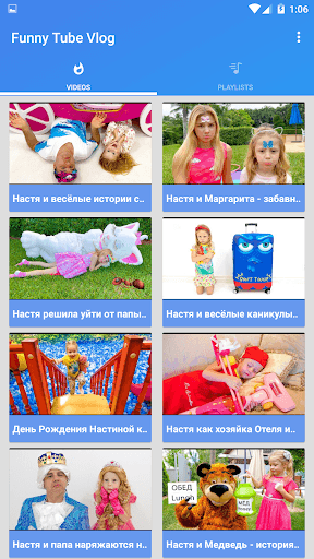 Toys Videos Funny Shows APK screenshot 1