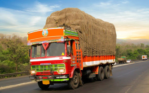 Indian truck driver cargo city 2018 APK screenshot 1