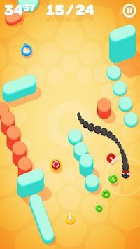 Snake on a String APK screenshot 1