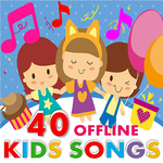 Kids Songs - Best Nursery Rhymes Free App icon
