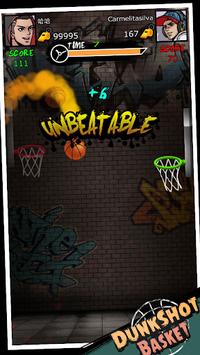 Dunk Shot Basket APK screenshot 1