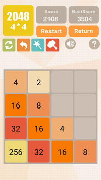 2048 Charm: Classic & New 2048, Number Puzzle Game APK screenshot 1