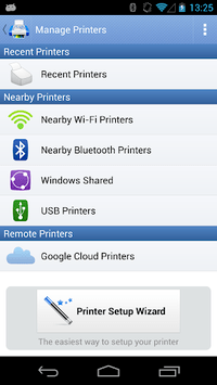 PrintHand Mobile Print APK screenshot 1