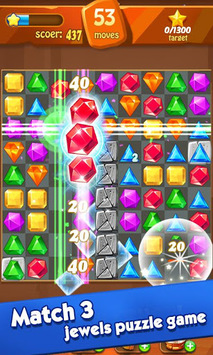 Jewels classic - Jewel Crush Legend APK screenshot 1
