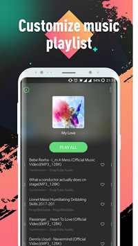 Lark Player —— YouTube Music & Free MP3 Top Player APK screenshot 1