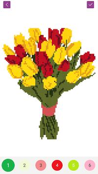Pixel Draw - Number Art Coloring Book APK screenshot 1
