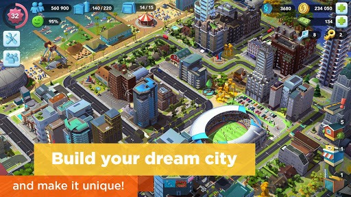 SimCity BuildIt APK screenshot 1
