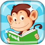 Monkey Junior: Learn to read English, Spanish&more APK icon