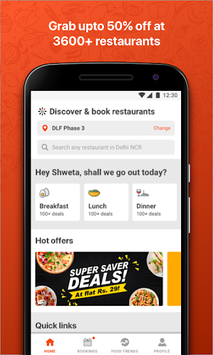 EazyDiner - Best Deals at The Best Restaurants APK screenshot 1