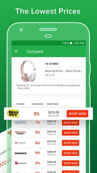 Ebates: Cash Back Shopping, Coupons & Promo Codes APK screenshot 1