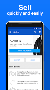Holiday Shopping Deals: Buy, Sell & Save with eBay APK screenshot 1