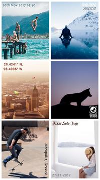 Auto Stamper: Timestamp Camera App for Photos 2018 APK screenshot 1