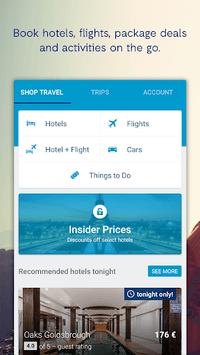 ebookers - Hotels, Flights & Package deals APK screenshot 1