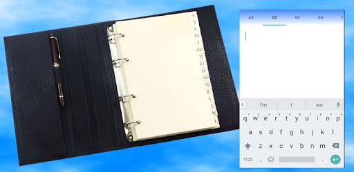 Alphabetical Notepad pc screenshot
