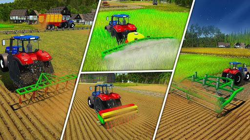 Real Forage Tractor Farming Simulator 2018 Game APK screenshot 1