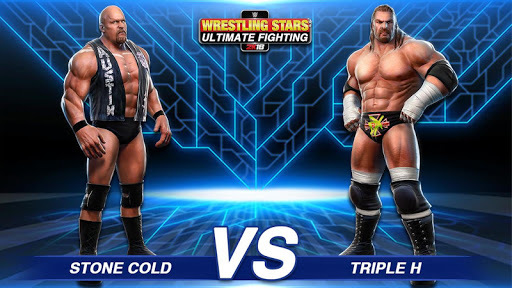 Wrestling Stars Ultimate Fighting 2018 APK screenshot 1