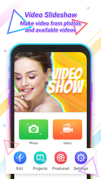 Video Maker Of Photos & Effects, Slow Motion Video APK screenshot 1