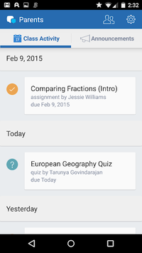 Edmodo for Parents APK screenshot 1