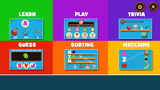 Learning Phonics for Kids APK screenshot 1