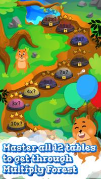 Times Tables and Friends-1 x 12 multiplication fun APK screenshot 1