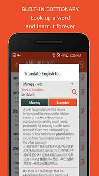 6 Minute English - Practice Listening Everyday APK screenshot 1