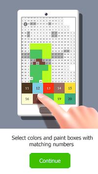 Color by Number. Pixel Art APK screenshot 1
