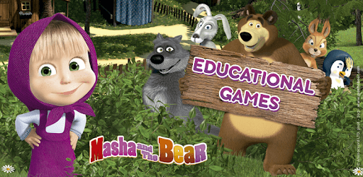 Masha and the Bear. Educational Games pc screenshot