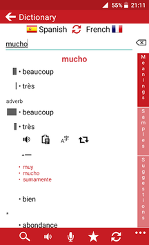 French - Spanish APK screenshot 1