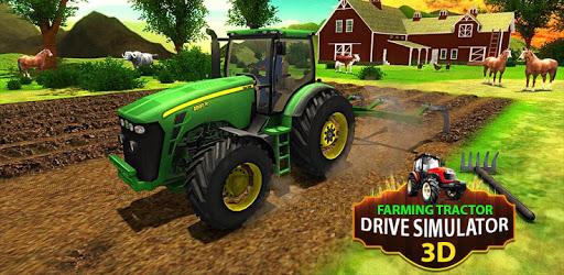 Big Farming Tractor Drive 3D-18 pc screenshot