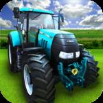 Big Farming Tractor Drive 3D-18 icon