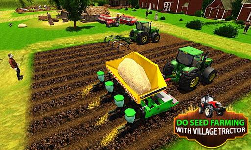 Big Farming Tractor Drive 3D-18 APK screenshot 1